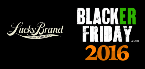 Lucky Brand Black Friday 2016