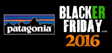 Patagonia Black Friday 2016