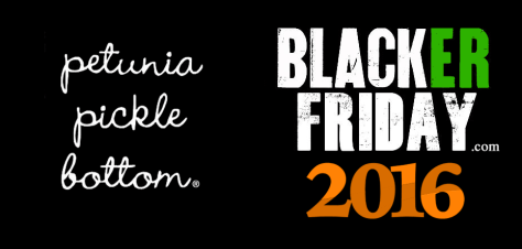 Petunia Pickle Bottom Black Friday 2016