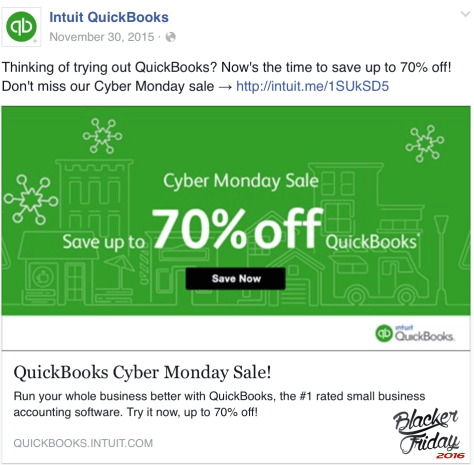 Quickbooks black friday sale - page 1
