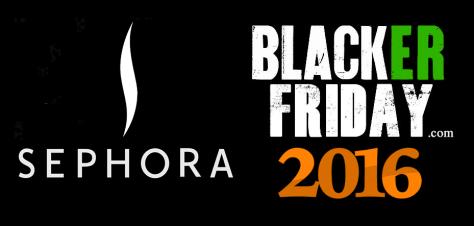 Sephora Black Friday 2016