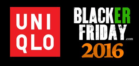 Uniqlo Black Friday 2016