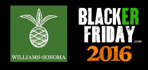 Williams Sonoma Black Friday 2016