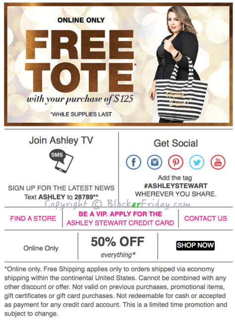 Ashley Stewart Cyber Monday Ad Scan - Page 2