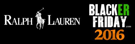 Ralph Lauren Black Friday 2016