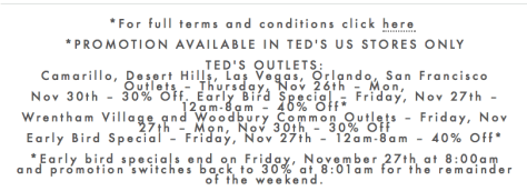 Ted Baker Cyber Monday Ad Scan - Page 2