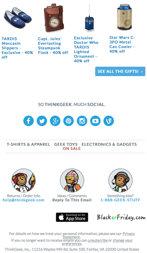 Thinkgeek Black Friday Ad - Page 3