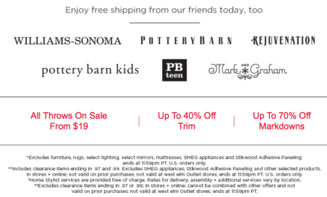 West Elm Cyber Monday Ad Scan - Page 2