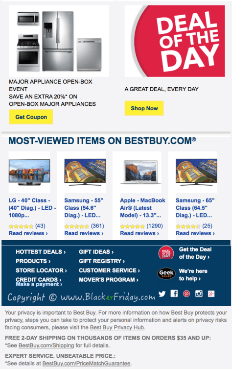 Best Buy Labor Day 2016 Sale Flyer - Page 3