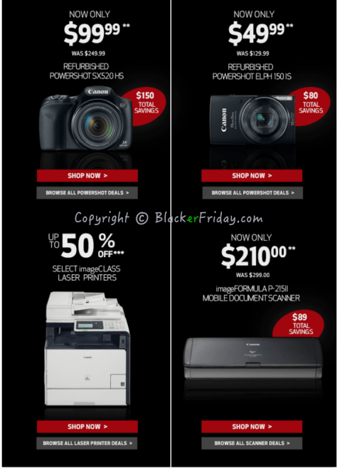 Canon Black Friday Ad Scan - Page 3