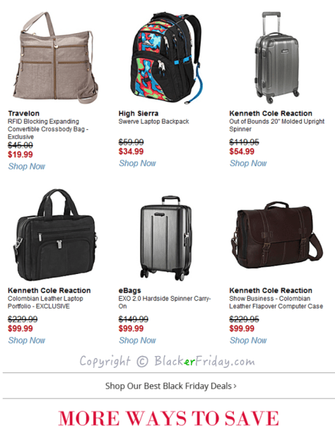 Ebags Black Friday Ad Scan - Page 5