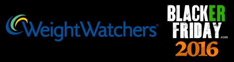 Weight Watchers Black Friday 2016