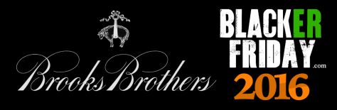 Brooks Brothers Black Friday 2016