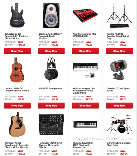 Guitar Center Labor Day 2016 Sale - Page 3