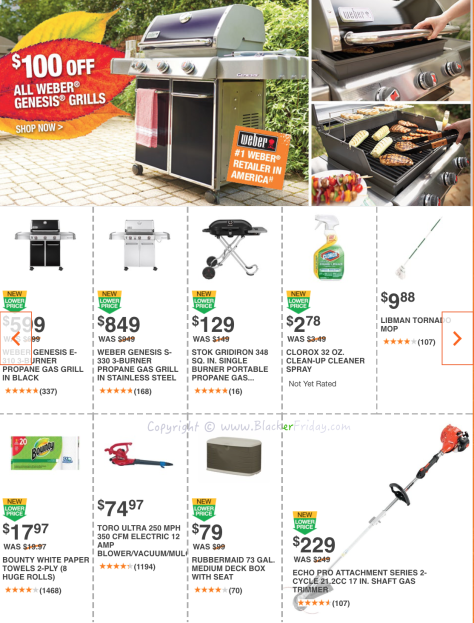 Home Depot Labor Day 2016 Sale Flyer - Page 5