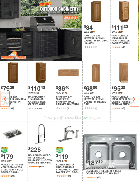 Home Depot Labor Day 2016 Sale Flyer - Page 8