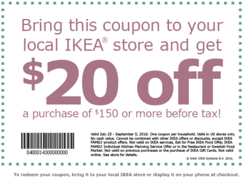 IKEA Labor Day 2016 Sale - Page 2