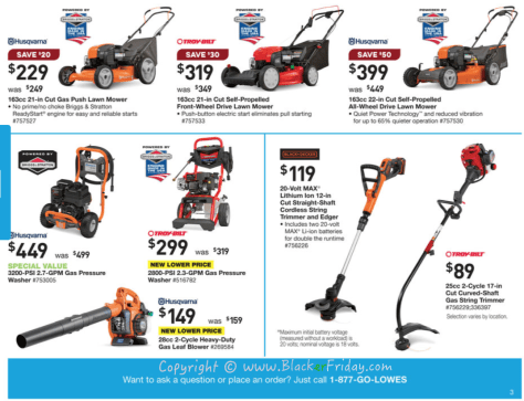 Lowes Labor Day 2016 Sale Flyer - Page 6