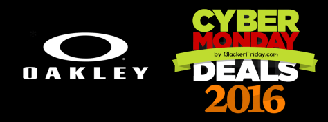 Oakley Cyber Monday 2016