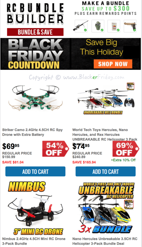 HobbyTron Black Friday Sale Flyer - Page 4