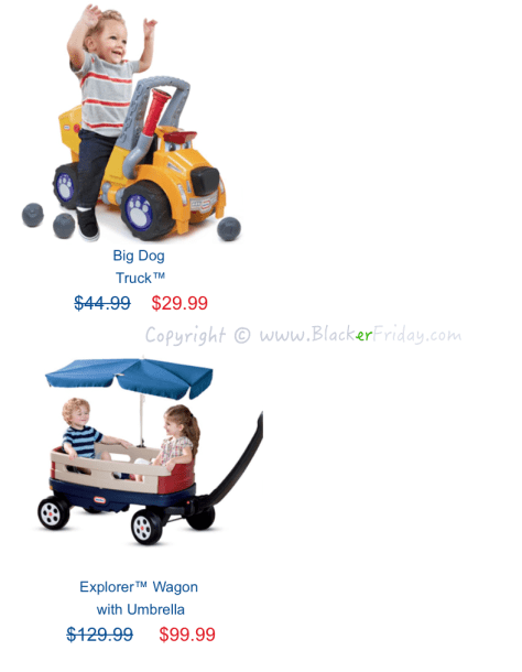 Little Tikes Black Friday Sale Flyer - Page 3