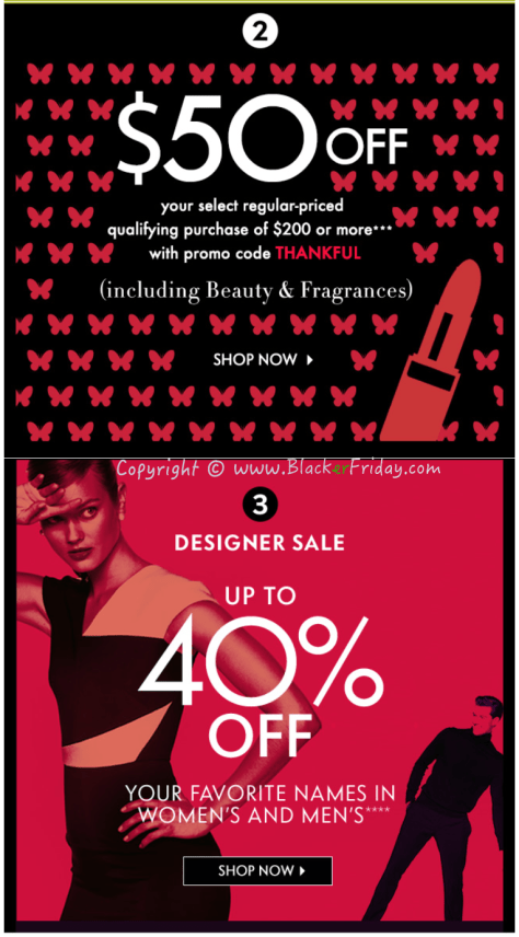 Neiman Marcus Black Friday Sale Ad Flyer - Page 2
