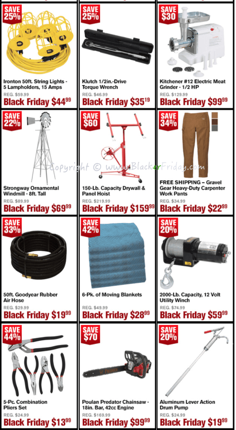 Northern Tool Black Friday Sale Flyer - Page 4