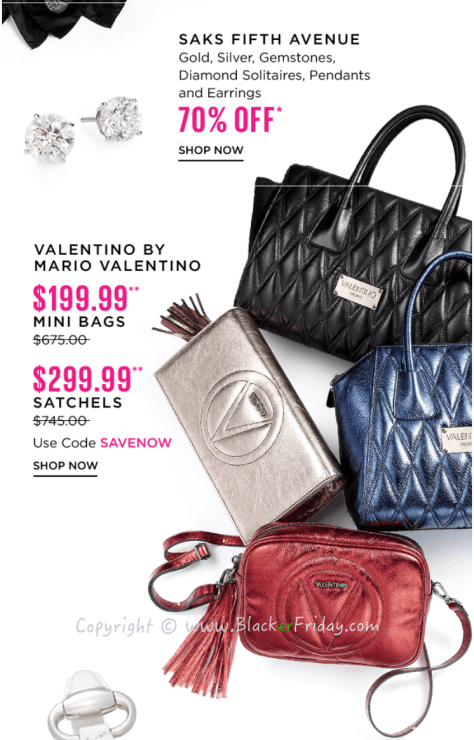 Saks Fifth Avenue Black Friday Sale Flyer - Page 2