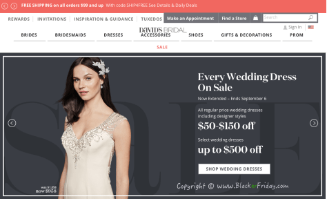 Davids Bridal Labor Day 2016 Sale - Page 1