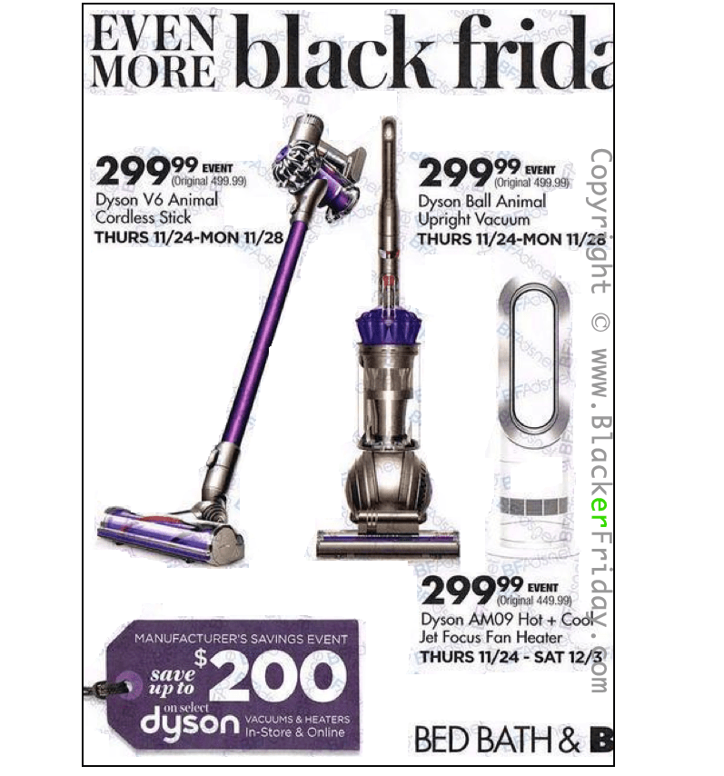 Dyson Black Friday 2018 Sale Deals Blacker Friday