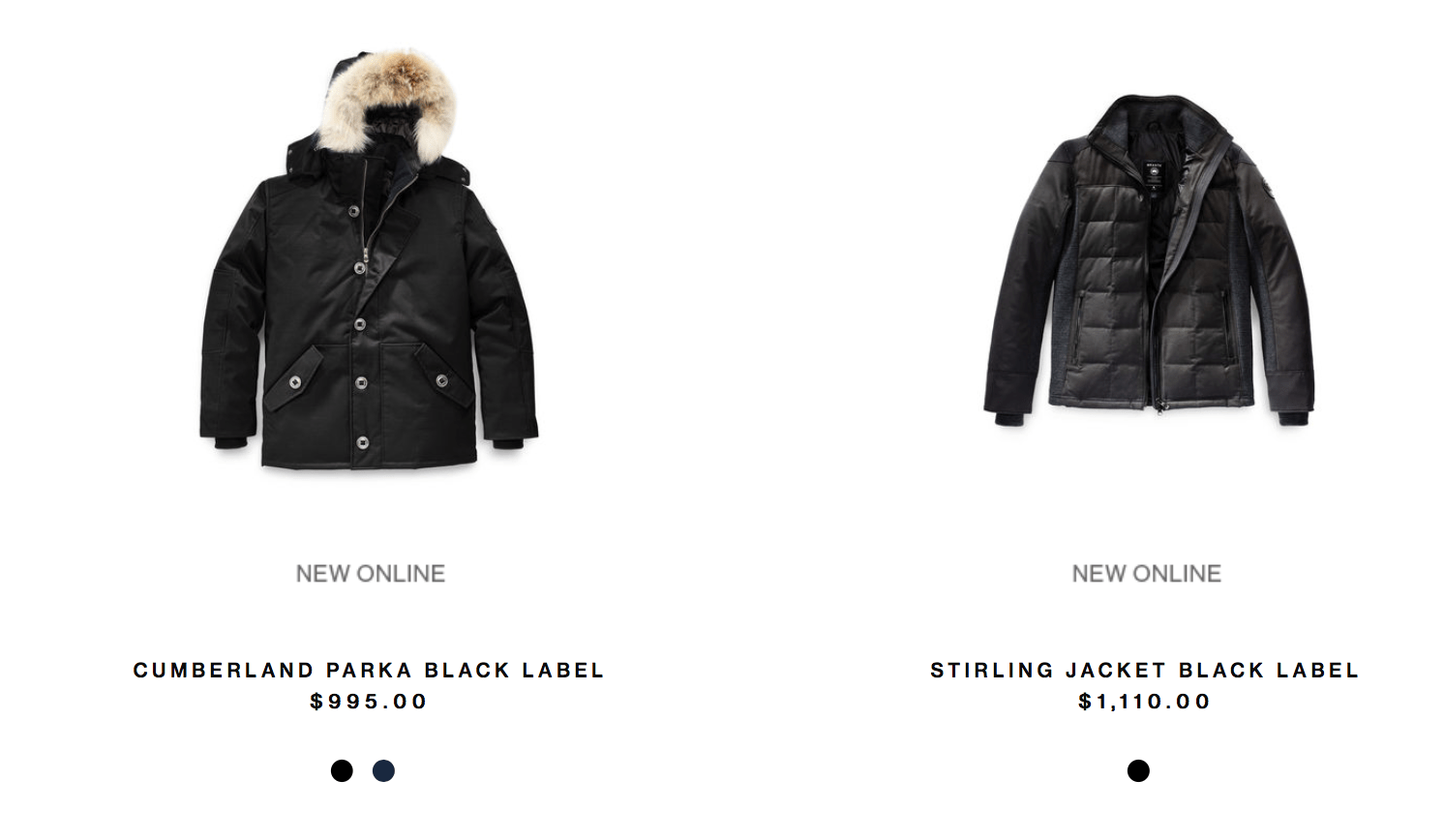 canada goose black friday sale online