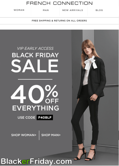 8e512b40f65 French Connection Black Friday 2019 Ad, Sale & Deals - BlackerFriday.com