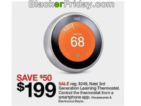 Nest Thermostat Black Friday 2019 Sale & Deals - BlackerFriday com