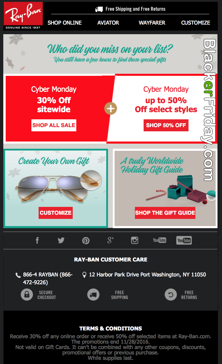 ray ban sunglasses black friday sale  ray ban cyber monday 2016 sale & deals