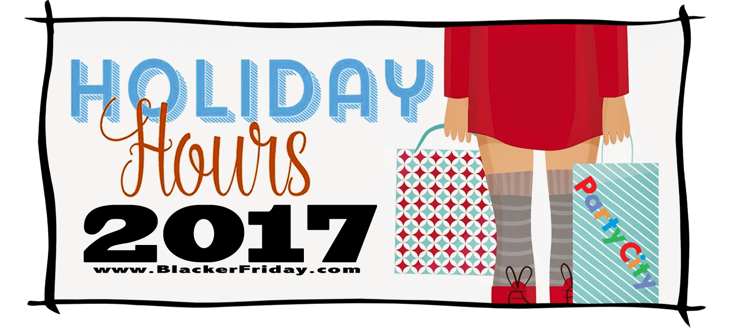Party City Black Friday Store Hours 2017