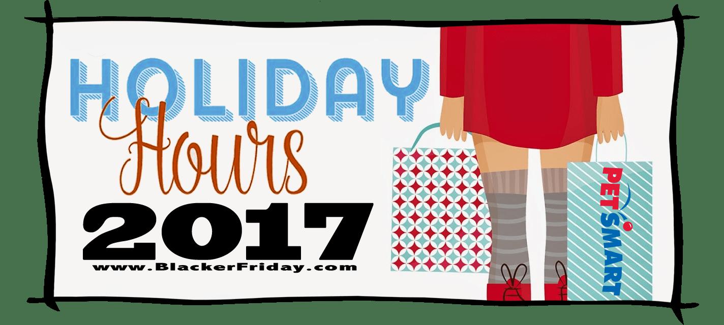 Petsmart Black Friday Store Hours 2017