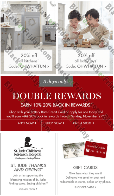 Pottery Barn Kids Black Friday 2019 Ad Sale Amp Deals