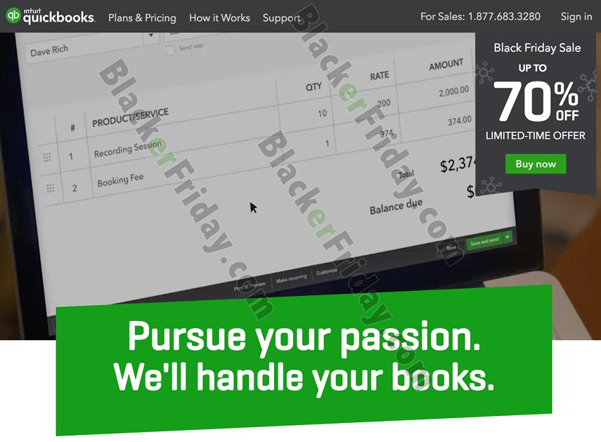 QuickBooks Cyber Monday Sale 2019 (2020 Versions) - BlackerFriday.com