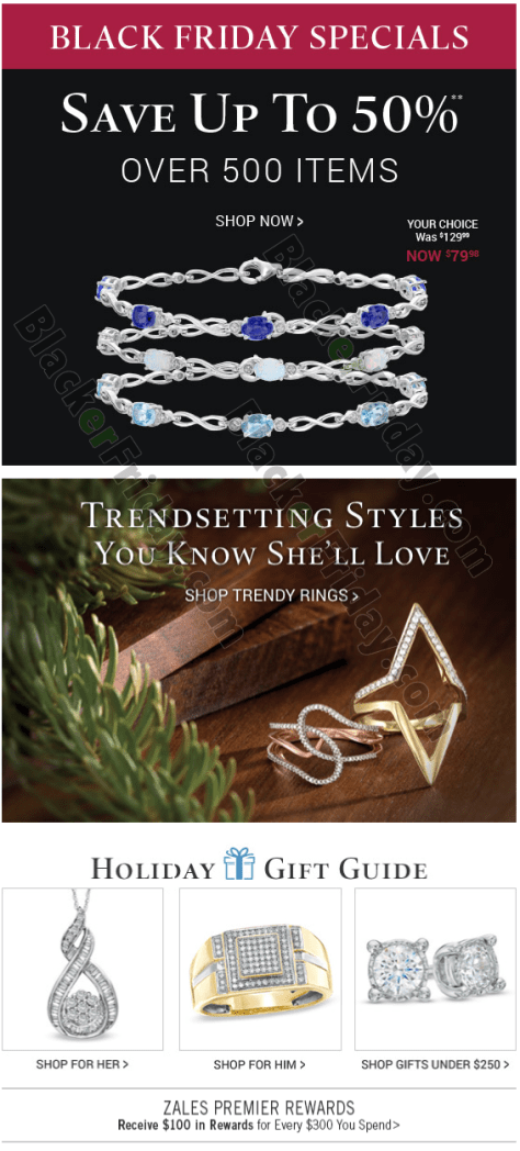 Cyber monday jewelry deals 2018