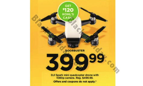 5502fdeb055 Dell: Dell's featuring the DJI Spark Mini drone in their Black Friday ad  this year. It'll be on sale for $399.99 — that's $100.00 off the list price  of ...