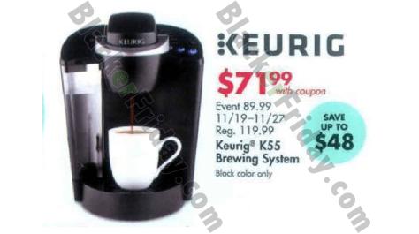 Keurig Black Friday 2018 Sale & K-Cup Coffee Brewer Deals Blacker Friday