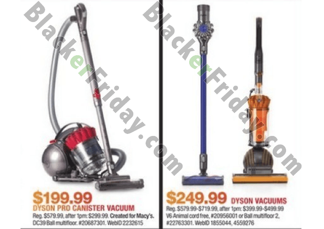 Loweu0027s: Loweu0027s Has An Entire Page Dedicated To Vacuum Cleaners In Their  2017 Black Friday Ad And Half Of The Machines Featured Are Dysonu0027s.