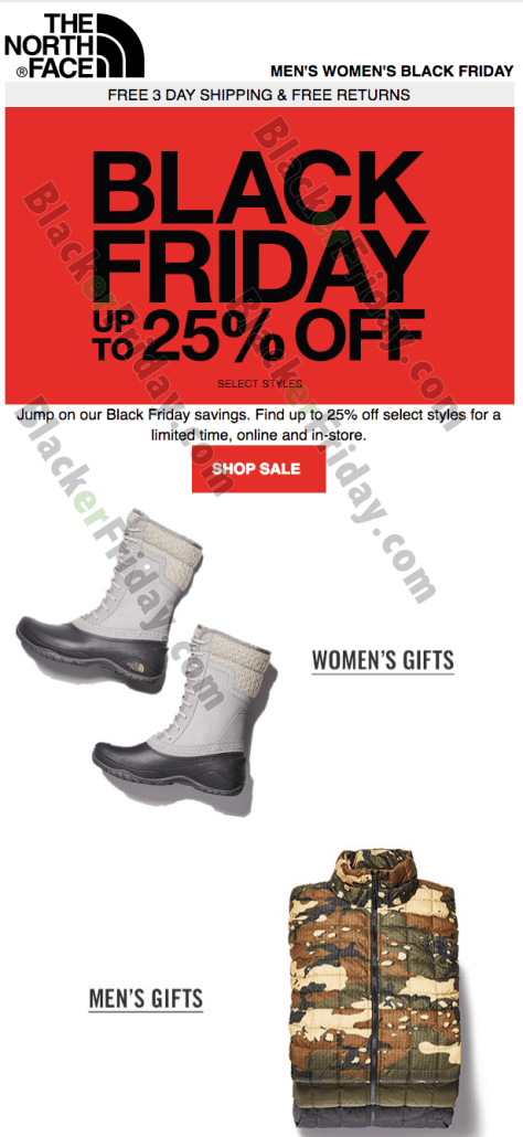 8a860bcc2 The North Face Black Friday 2019 Sale & Deals - BlackerFriday.com