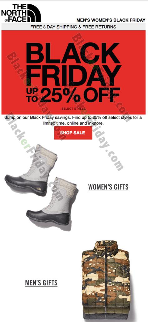 The North Face Black Friday 2019 Sale   Deals - BlackerFriday.com 7239e98596e9