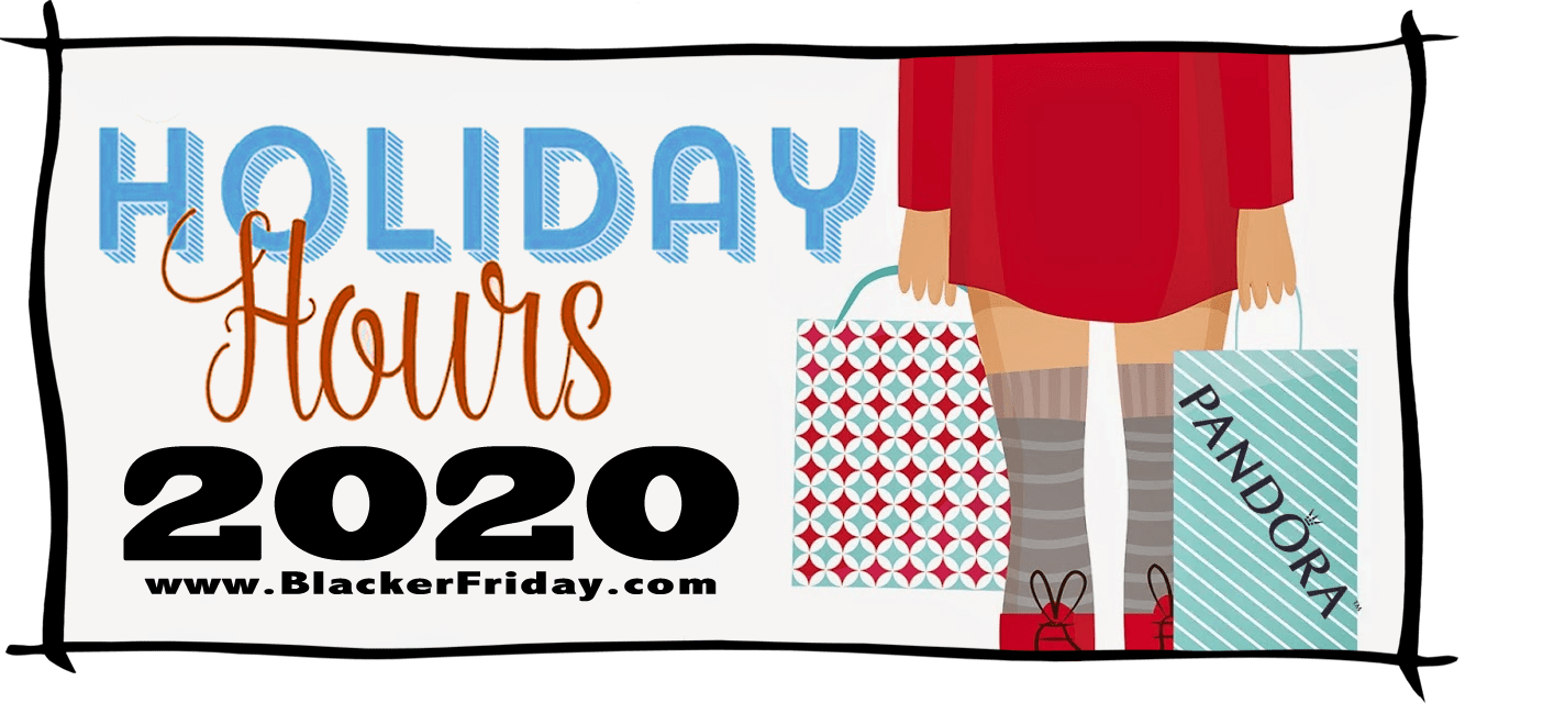 Pandora Black Friday Store Hours 2020