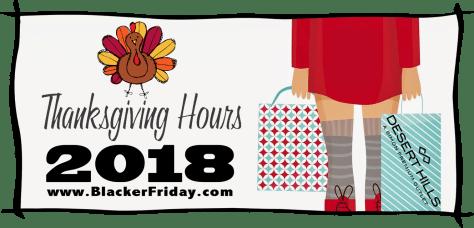 c110f76cde1 Desert Hills Premium Outlets Thanksgiving   Black Friday Hours 2018 ...