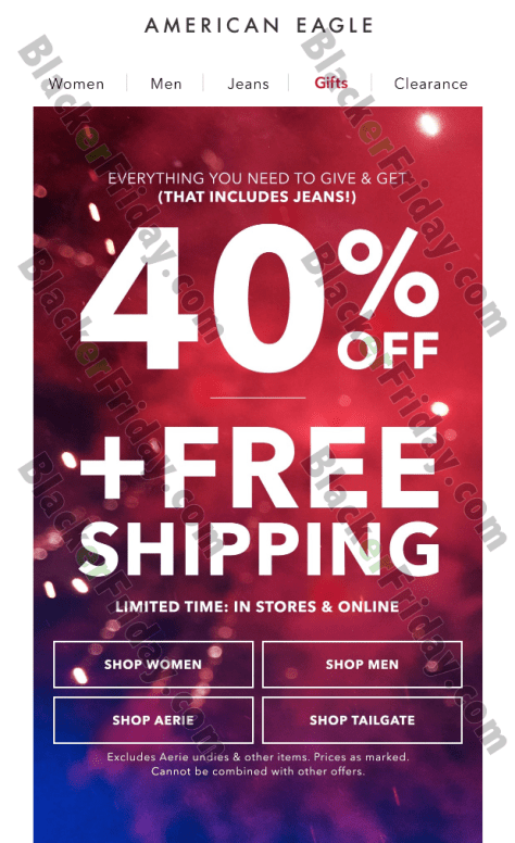 American Eagle Outfitters Black Friday 2019 Ad, Sale ...