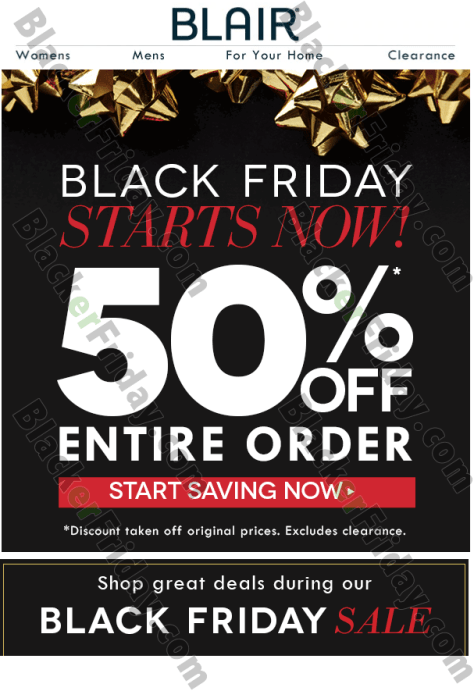 cf92675db753 ... get 50% off your entire purchase with promo code BNQA. We've pretty  sure there will be some exclusions so see their site for all the official  details ...