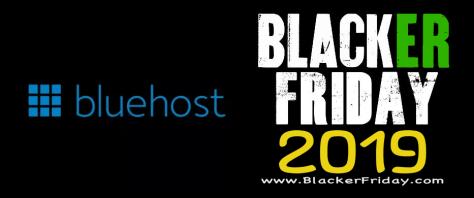 Blue Host Black Friday 2019 Sale & Webhosting Deals