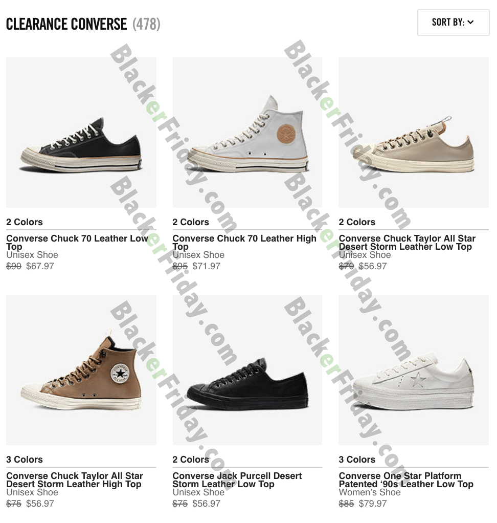 converse shoes on sale black friday